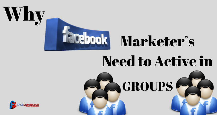 Facebook Marketer's Need to Active in Groups