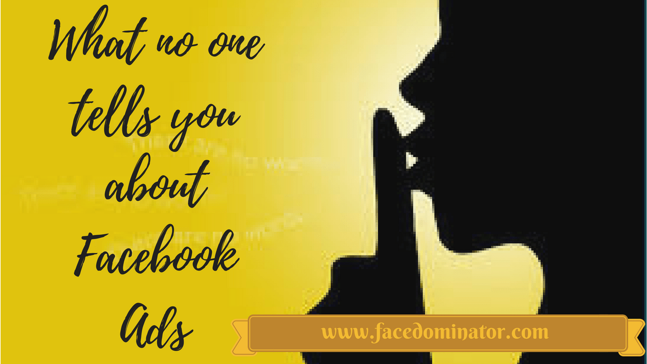 5 Things What no one tells you about Facebook Ads
