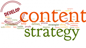 Develop content strategy