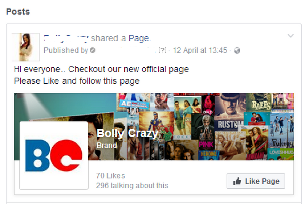 Promote your Page on Facebook