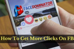 How To Acquire More Clunks On Your Facebook Ads With FaceDominator?
