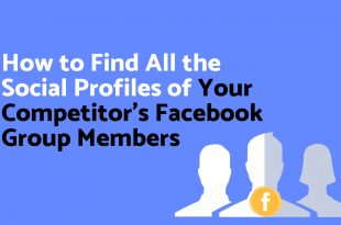 How to Find All the Social Profiles of Your Competitor's Facebook Group Members